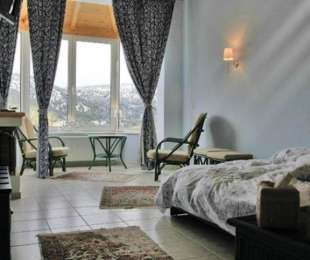 2-level Suite with fireplace (2 - 4 persons)